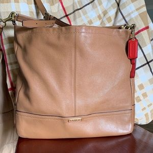 Coach Cognac crossbody Bag